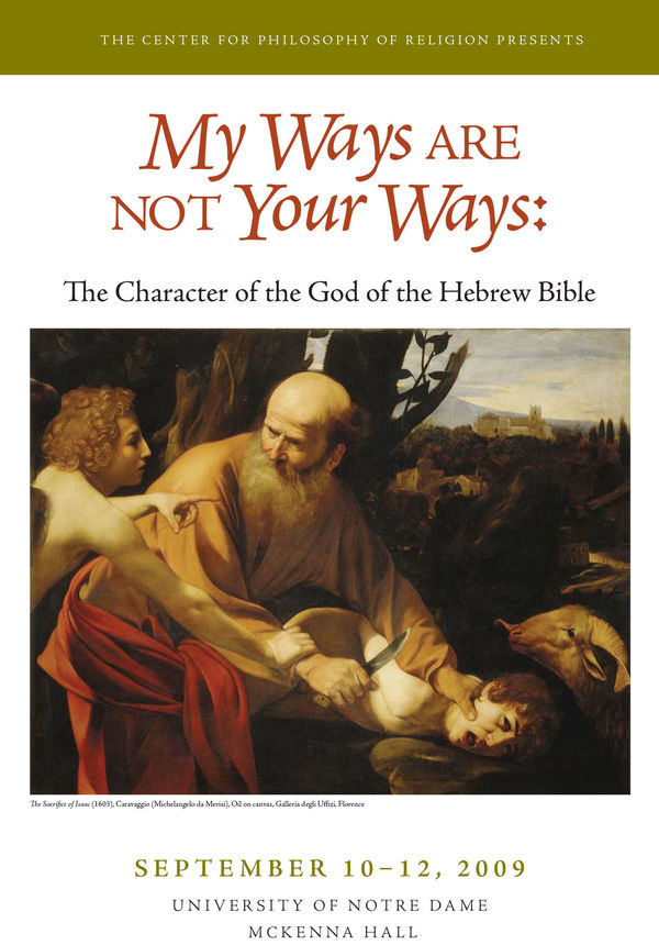 My Ways Are Not Your Ways Program Cover